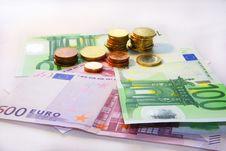 Free Euro Royalty Free Stock Image - 8259856