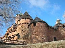 Free Castle And Mill Royalty Free Stock Photo - 8259895