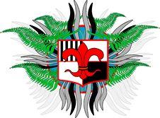 Emblem. Royalty Free Stock Photos