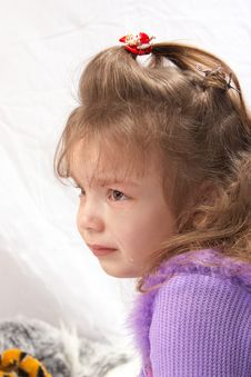 Free Girl In Tears Stock Images - 8259954