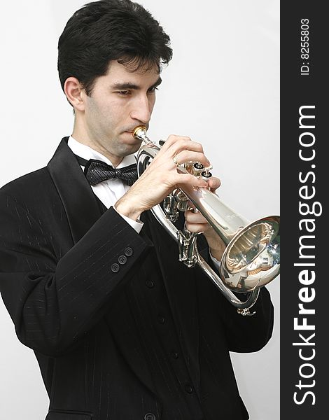 Trumpet Player - Free Stock Images & Photos - 8255803