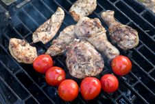 Free Grilled Chicken Breast Barbeque Royalty Free Stock Images - 8260019