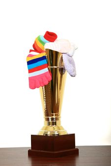 Free Award For Best Socks Stock Images - 8260494