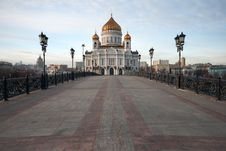Free Cathedral Of Christ The Savior Stock Images - 8260714