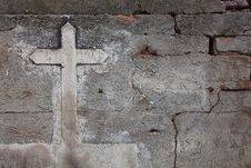 Free Cement Cross Stock Images - 8260764