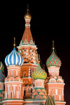 Free Saint Basil Cathedral Stock Images - 8260784