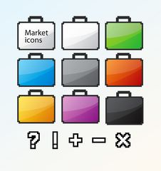 Free Icon_01 Royalty Free Stock Images - 8261229