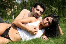 Free Romantic Couple Stock Photo - 8261260