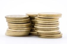 Free Stack Of Coins Stock Image - 8261351