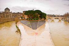 Free Isola Tiberina In Rome, Italy Stock Photography - 8261392