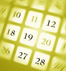 Free Calendar Royalty Free Stock Photo - 8261925