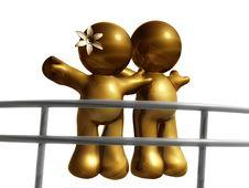 Free Couple Face The Future Stock Image - 8262571