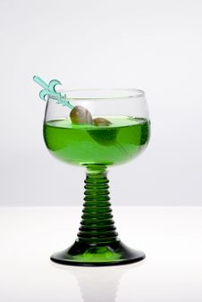Free Green Cocktail Stock Images - 8263234