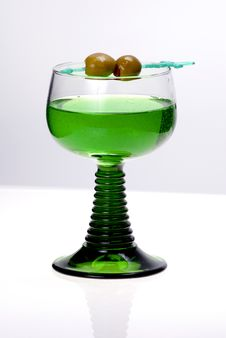 Free Green Cocktail Royalty Free Stock Photos - 8263248
