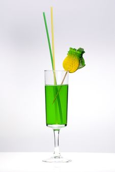 Free Green Cocktail Stock Photo - 8263440
