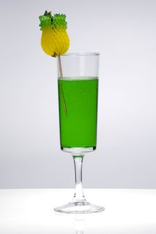 Free Green Cocktail Royalty Free Stock Photography - 8263477