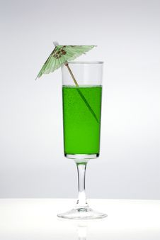 Free Green Cocktail Stock Image - 8263511