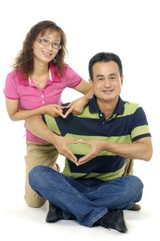 Free Asian Couple Stock Images - 8263824