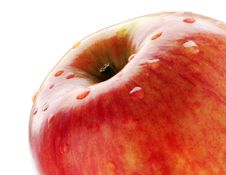 Free Red Apple On White Royalty Free Stock Images - 8263899