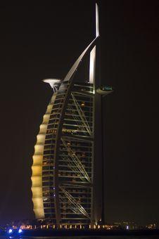 Free Burj Al Arab Cream Royalty Free Stock Image - 8263916