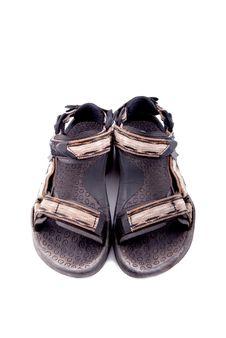 Hiking Shoe Royalty Free Stock Photography