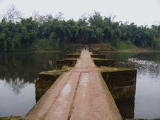 Ancient Stone Bridge In China Royalty Free Stock Image