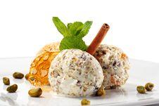 Free Pistachio Ice Cream Stock Images - 8264464