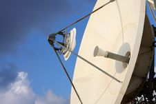 Free Satellite Dish Royalty Free Stock Images - 8265609