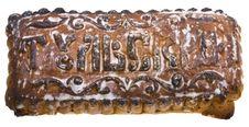 Free Tula Spice Cake Isolated On White Royalty Free Stock Image - 8265806