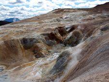 Volcano Krafla Royalty Free Stock Photo