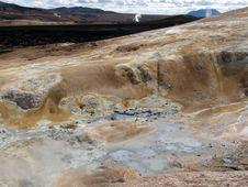 Volcano Krafla Royalty Free Stock Photos