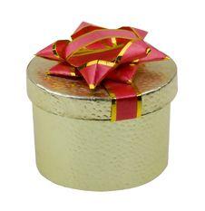 Free Beautiful Present Box On White Royalty Free Stock Photos - 8266178