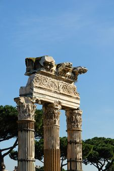 A Monument In Rome Italy Royalty Free Stock Photography