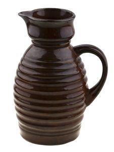 Free Vintage Olg Ceramic Jug Isolated On White Royalty Free Stock Photo - 8266245