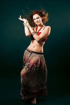 Gipsy Dancer Stock Images