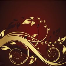 Free Abstract Floral Background Royalty Free Stock Images - 8267089