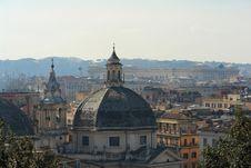 Rome Near Piazza Del Popolo Stock Image