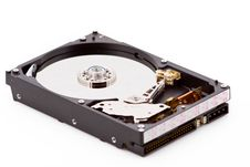 Open Hard Disk Royalty Free Stock Image