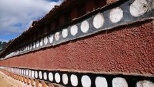 Free Tibetan Wall Royalty Free Stock Photography - 8267327