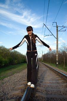 Free Railway Walk Stock Images - 8267384