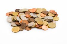 Free A Group Of Old Coins Stock Photos - 8267543