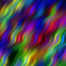 Free Colored Waves Pattern Stock Photo - 8267660