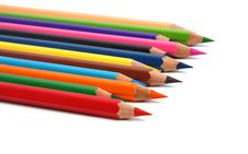 Free Group Pencils Royalty Free Stock Photos - 8268048