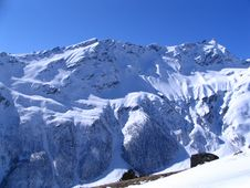 Free North Slope Of Mount Cheget Stock Photography - 8268152