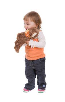 Free Happy Baby Girl Stock Photography - 8268162