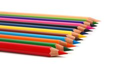 Row Pencil Stock Photos