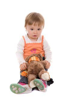 Free Happy Baby Girl Stock Photo - 8268200