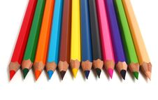 Free Row Sharp Pencils Stock Image - 8268251