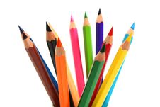 Free Sharp Pencils Royalty Free Stock Images - 8268319