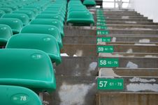 Free Stadium Seats Royalty Free Stock Photos - 8268538